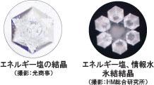 波動の塩の結晶
