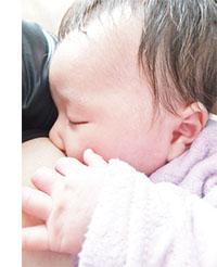 モリンガと赤ちゃん