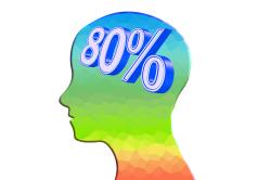 脳の80%が水分
