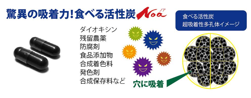 食べる活性炭Noa イメージ